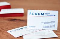 Beispiel Premium Visitenkarten mit Farbschnitt