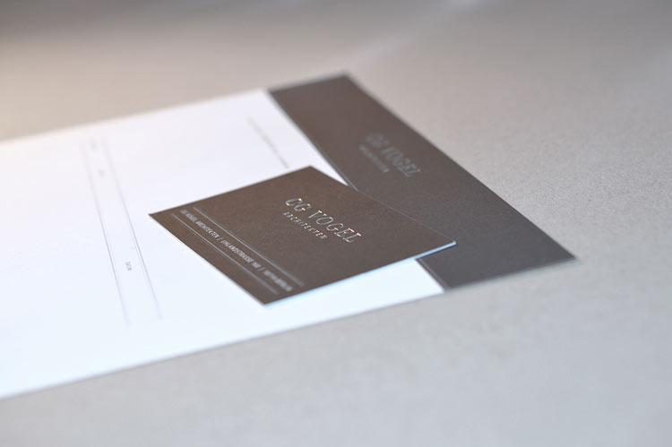 Prägedruck Briefpapier 2