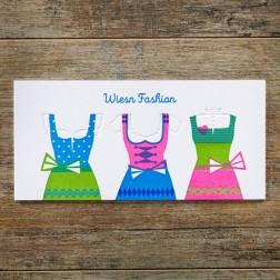 """Karte """"Dirndl Fashion"""""""
