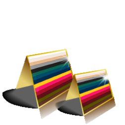 Gmund Colors Klappkarten quadratisch