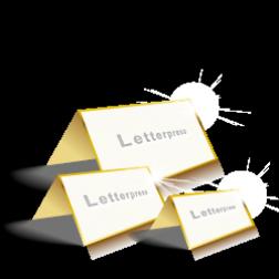 Letterpress Klappkarten