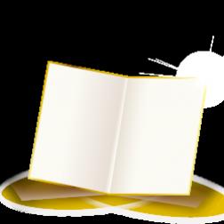 Einbruchfalz Flyer mit Prägefoliendruck