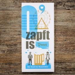 "Karte ""O'zapft is"""