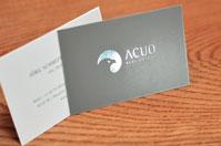Visitenkarten mit Heißfolienprägung