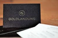 Visitenkarten Premium mit Gold